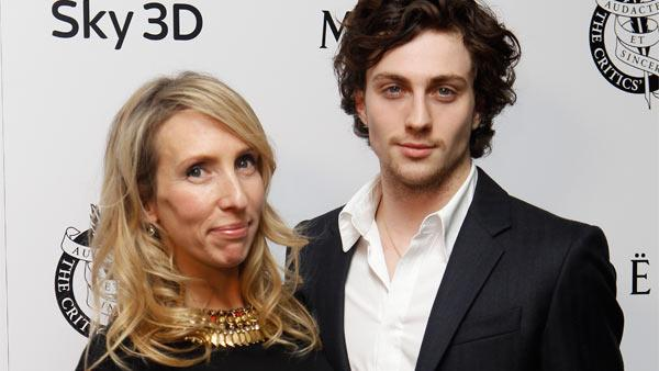 Sam Taylor-Wood and Aaron Johnson arrive for the 31st London Film Critics Circle Awards at the BFI southbank in central London, Thursday, Feb. 10, 2011. - Provided courtesy of AP / AP Photo/Joel Ryan