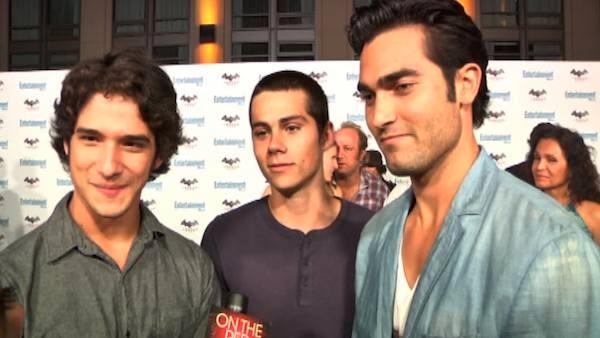 'Teen Wolf' stars chat at Comic-Con