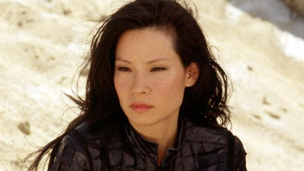 Lucy Liu appears in a still from the 2003 film, Charlies Angels: Full Throttle. - Provided courtesy of Columbia Pictures / Darren Michaels