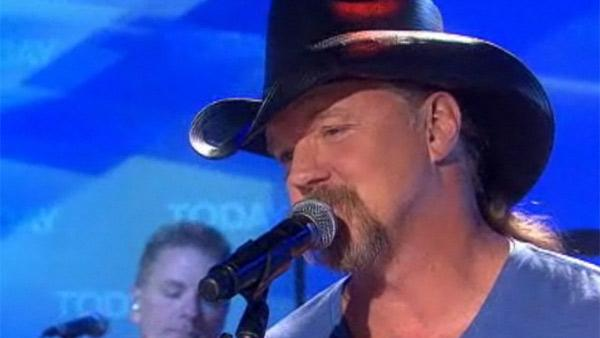 Trace Adkins performs on NBCs Today show on Aug. 2, 2011. - Provided courtesy of NBC