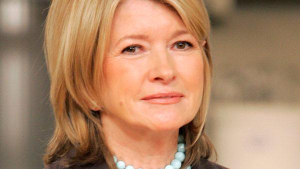 Martha Stewart appears in a promotional photo for 'The Martha Stewart Show.'
