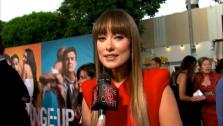 Olivia Wilde talks to OnTheRedCarpet.com at the Hollywood premiere of The Change-Up. - Provided courtesy of OTRC