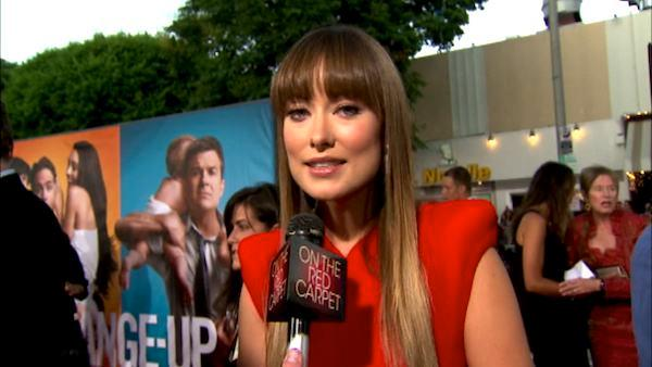 Olivia Wilde talks 'The Change-Up'
