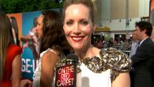 Leslie Mann talks to OnTheRedCarpet.com at the Hollywood premiere of The Change-Up. - Provided courtesy of OTRC