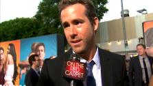 Ryan Reynolds talks to OnTheRedCarpet.com at the Hollywood premiere of The Change-Up. - Provided courtesy of OTRC