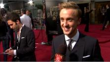 Tom Felton talks to OnTheRedCarpet.com at the Hollywood premiere of Rise of the Planet of the Apes. - Provided courtesy of OTRC