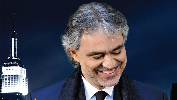 Andrea Bocelli appears in a promotional photo for his Live in Central Park concert, set to take place on Sept. 15, 2011 and be filmed for a PBS special. - Provided courtesy of bocellicentralpark.com