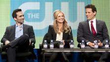 Nestor Carbonell, Sarah Michelle Gellar and Ioan Gruffudd appears at an event for the Television Critics Associations 2011 Summer TV Press Tour to promote the 2011 CW show Ringer. The event took place at the Beverly Hilton hotel in Los Angeles. - Provided courtesy of Joe Magnani / The CW