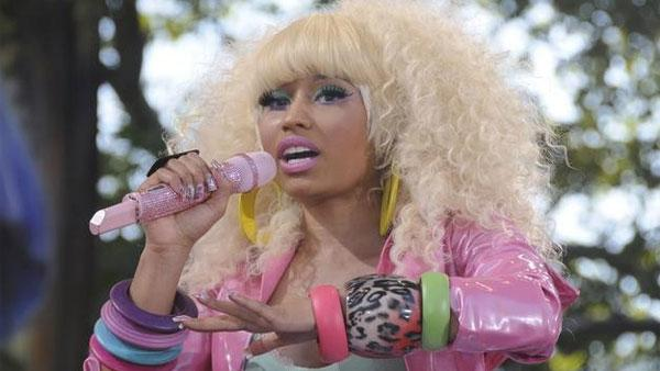 Nicki Minaj performs on Good Morning America on ABC on Friday, Aug. 5, 2011. - Provided courtesy of ABC / Ida Mae Astute