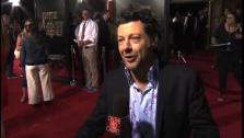 Andy Serkis talks to OnTheRedCarpet.com at the Hollywood premiere of Rise of the Planet of the Apes. - Provided courtesy of OTRC