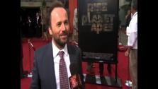 Rupert Wyatt talks to OnTheRedCarpet.com at the Hollywood premiere of Rise of the Planet of the Apes. - Provided courtesy of OTRC