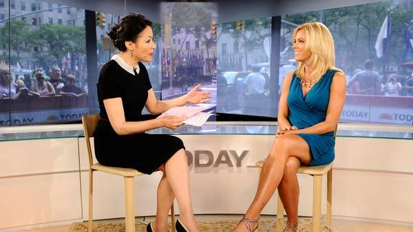 Kate Gosselin on the set of the Today Show on August 8, 2011. - Provided courtesy of NBC