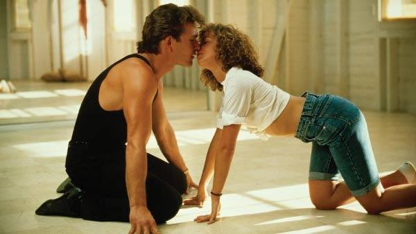 Patrick Swayze and Jennifer Grey appear in a scene from the 1987 movie Dirty Dancing - Provided courtesy of Vestron Pictures