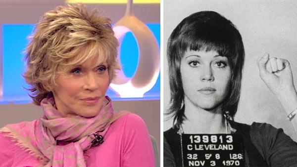 Jane Fonda appears on Good Morning America on ABC on August 8, 2011. - Provided courtesy of ABC / twitter.com/janefonda/