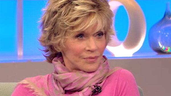 Jane Fonda appears on 'Good Morning