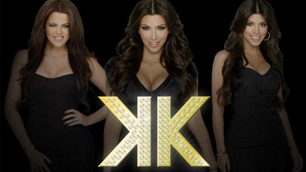 Khloe, Kim and Kourtney Kardashian appear in this promotional photo for their new clothing line Kardashian Kollection. - Provided courtesy of Kardashian Kollection