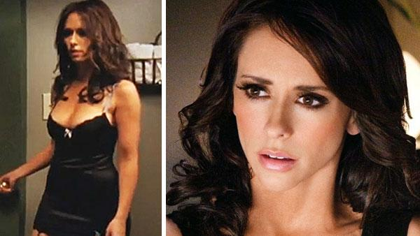 Jennifer Love Hewitt appears in scenes from the 2010 Lifetime movie The Client List. - Provided courtesy of Lifetime