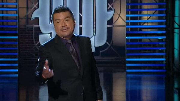 George Lopez appears on the second-to-last episode of his TBS talk show Lopez Tonight on Aug. 10, 2011. - Provided courtesy of TBS