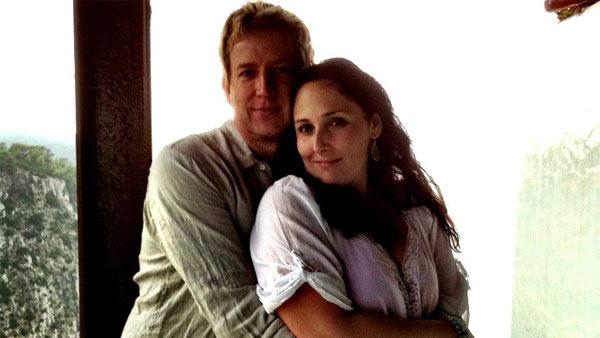 Pictured: Ricki Lake and Christian Evans appear in a photo posted on her Twitter page on Aug. 11, 2011. - Provided courtesy of yfrog.com/h4o2xdlbj / twitter.com/RickiLake