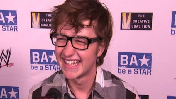 Angus T. Jones speaks to OnTheRedCarpet.com at the WWE SummerSlam Kickoff event in Los Angeles on Aug. 11, 2011. - Provided courtesy of OTRC