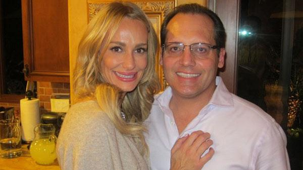 Taylor Armstrong and her husband Russell Armstrong appear in this photo posted on her Facebook page on Nov. 26, 2010.