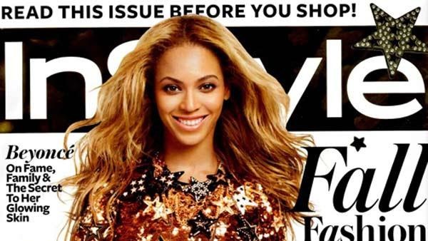 Beyonce appears on the September 2011 cover of InStyle magazine. - Provided courtesy of InStyle