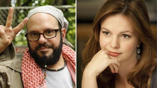 David Cross appears in a still from Running Wilde. / Amber Tamblyn appears in a still from the 2009 film Main Street. - Provided courtesy of FX Network / Main Street Film Company / Ron Phillips