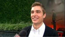 Dave Franco talks to OnTheRedCarpet.com at a screening for Fright Night. - Provided courtesy of OTRC