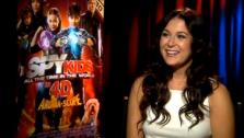 Alexa Vega talks to OnTheRedCarpet.com about Spy Kids: All the Time in the World in 4D. - Provided courtesy of OTRC