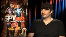 Robert Rodriguez talks to OnTheRedCarpet.com about Spy Kids: All the Time in the World in 4D. - Provided courtesy of OTRC