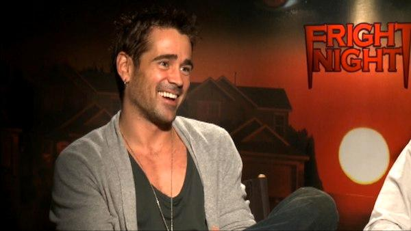Colin Farrell and Craig Gillespie talk to OnTheRedCarpet.com in a press junkett for Fright Night.