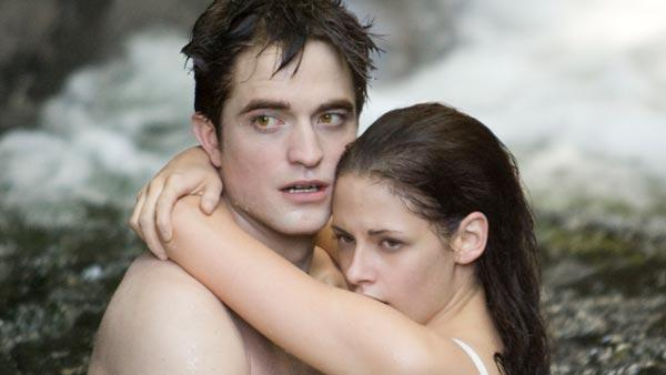 Kristen Stewart and Robert Pattinson in a scene from The Twilight Saga: Breaking Dawn - Part 1. - Provided courtesy of OTRC / Summit Entertainment / Entertainment Weekly