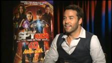 Jeremy Piven talks to OnTheRedCarpet.com about Spy Kids: All the Time in the World in 4D. - Provided courtesy of OTRC