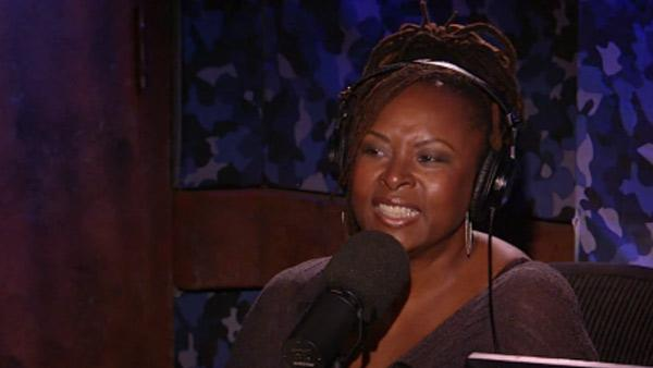 Robin Quivers appears on The Howard Stern Show on Sirius XM Radio on Aug. 10, 2011. - Provided courtesy of youtube.com/user/HOWARDTV / Sirius XM