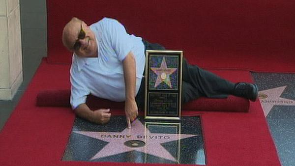 Danny DeVito gets Walk of Fame star (Video)