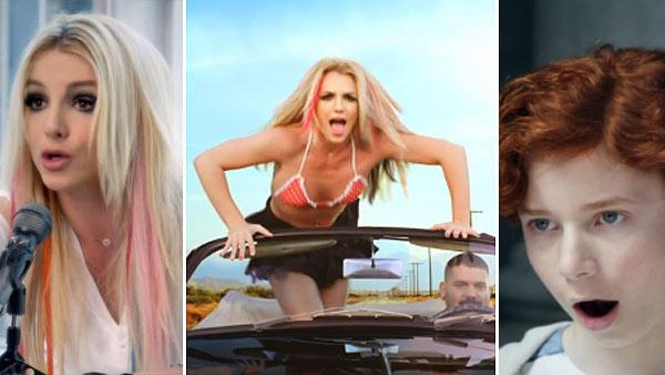 Scenes from Britney Spears' music video 'I Wanna Go,' which was posted online on June 22, 2011.