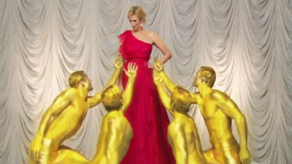 Jane Lynch appears in a still from an Emmy Award promo. - Provided courtesy of Fox