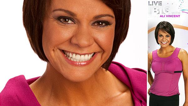 Ali Vincent appears in a promotional photo for her Live Well HD show Live Big with Ali Vincent. - Provided courtesy of OTRC