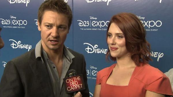 Scarlett Johansson and Renner talk 'Avengers'