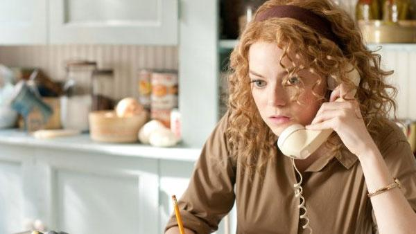 Emma Stone appears in a scene from the 2011 film The Help. - Provided courtesy of DreamWorks Pictures
