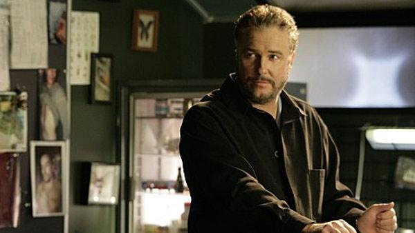 William Petersen appears in a scene from the CBS series CSI: Crime Scene Investigation. - Provided courtesy of CBS