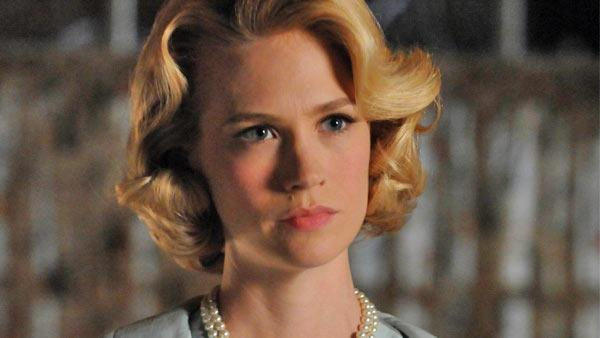 January Jones appears in a still from Mad Mens fourth season in 2010. - Provided courtesy of AMC