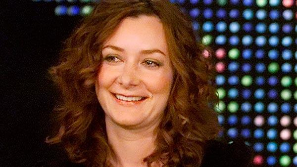 Sara Gilbert appears on 'Larry King Live' on October 7, 2005.