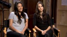 The Pretty Little Liars stars tease about whats in store for Spencer and Emily in upcoming the mid-season finale. - Provided courtesy of OTRC