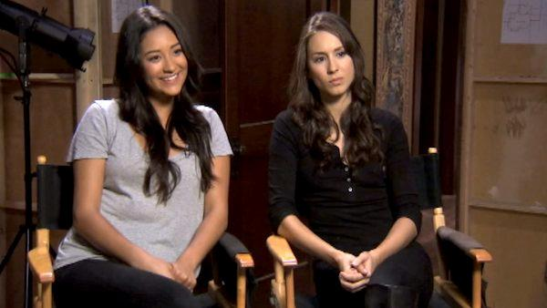 Troian Bellisario, Shay Mitchell talk 'Liars'