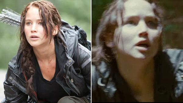 Jennifer Lawrence appears in a scene from The Hunger Games. - Provided courtesy of OTRC / Lionsgate