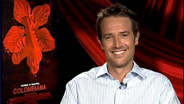 Michael Vartan on love scenes in 'Columbiana'