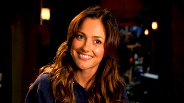 Minka Kelly appears in a promotional interview for 'The Roommate,' provided by production company Screen Gems in February 2011.