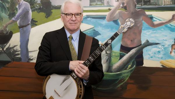 Steve Martin appears in an undated 2010 photo posted on his Twitter page.