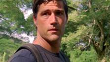 Matthew Fox appears in a scene from the ABC series LOST. - Provided courtesy of ABC